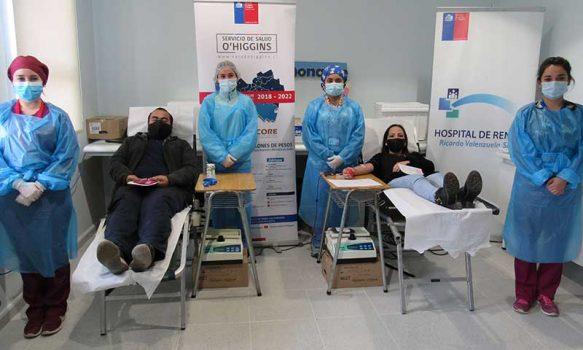 Hospital de Rengo cambia lugar de Colectas de Sangre al Cesfam Oriente