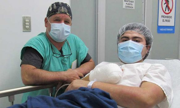 Rengo: Hospital realiza compleja intervención traumatológica