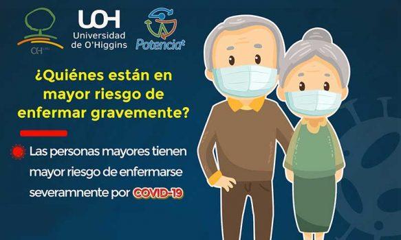Investigadora UOH busca determinar causas de alta mortalidad por COVID-19 en personas mayores