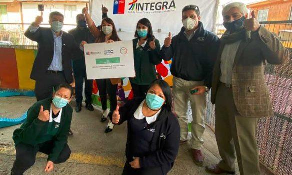 Jardines infantiles de Fundación Integra cuentan en su totalidad con Sello Verde