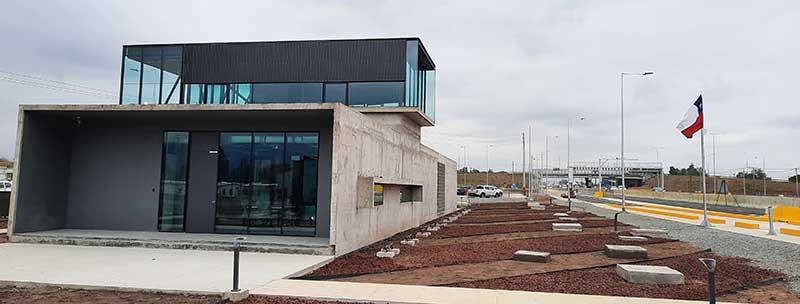 Mostazal: MOP O'Higgins inspecciona avance de obras de nueva Plaza de Pesaje Ruta 5