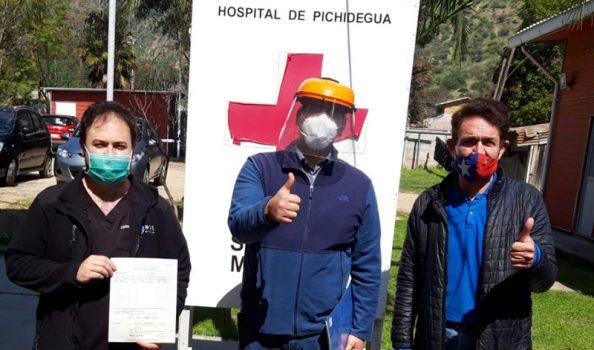 Pichidegua: Empresas se ponen con Hospital Comunitario