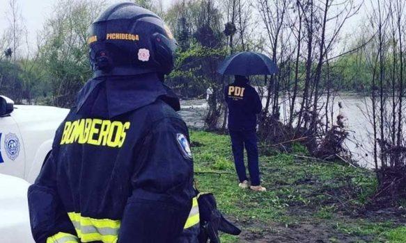 Pichidegua: PDI investiga hallazgo de osamentas en ribera del Río Cachapoal