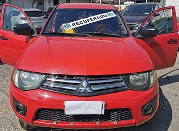Rancagua: Carabineros de la SEBV detuvieron a sujeto por tener una camioneta robada