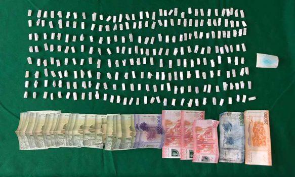 Rancagua: Carabineros detuvo a sujeto con 121 papelillos de pasta base