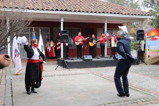 Rancagua: Municipalidad da inicio a mes de fiestas patrias desde la Casa de La Cultura