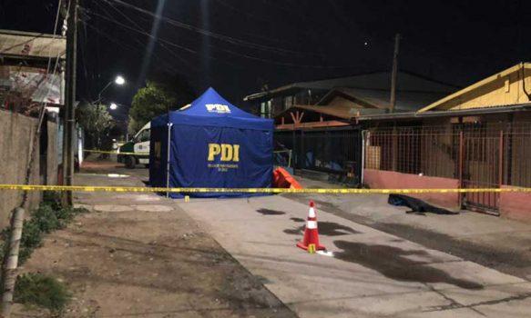Rancagua: PDI investiga homicidio ocurrido en población Santa Filomena