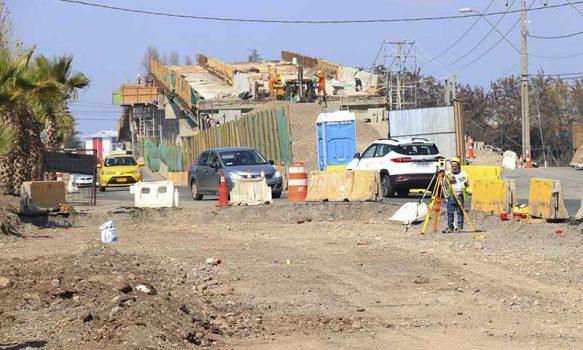 Rancagua: Realizan visita inspectiva a Paso Vehicular Desnivelado Las Coloradas