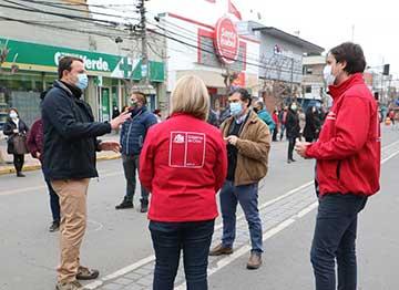 San Fernando: Gobernación de Colchagua realizó operativo de Gobierno en Terreno en centro de la ciudad