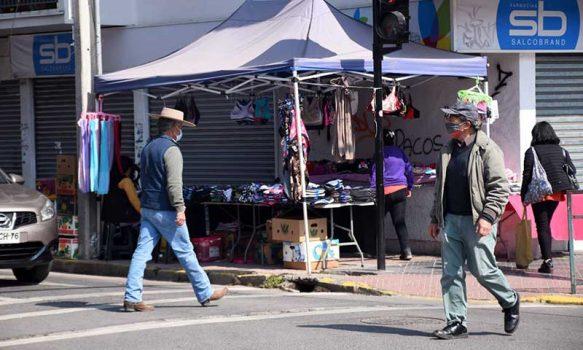 San Fernando: Municipalidad prohíbe comercio ambulante en calles céntricas