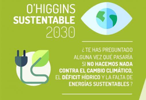 Talleres de O'Higgins Sustentable 2030 logran positivo impacto en ideas medioambientales