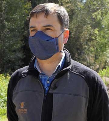 director de Medioambiente, Luis Concha