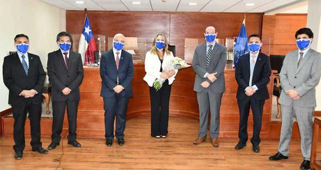 Bárbara Quintana Letelier jura como ministra de la corte de apelaciones de Rancagua