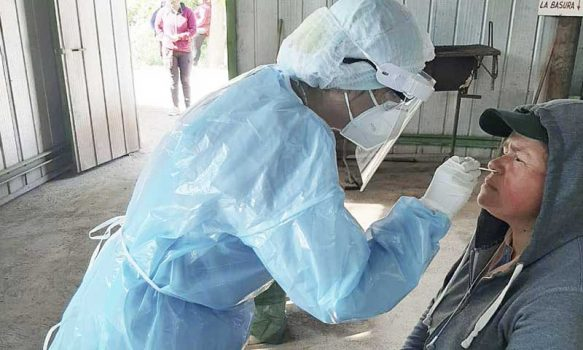 Codegua: Cesfam realizó más de 500 examenes PCR durante mes de septiembre