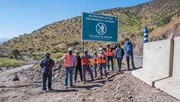 El Teniente dio el primer paso para erradicar basural clandestino en ruta Colinas Verdes