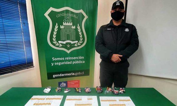 En sobres de café y en cajetillas de cigarro intentan ingresar droga cárcel de Rancagua