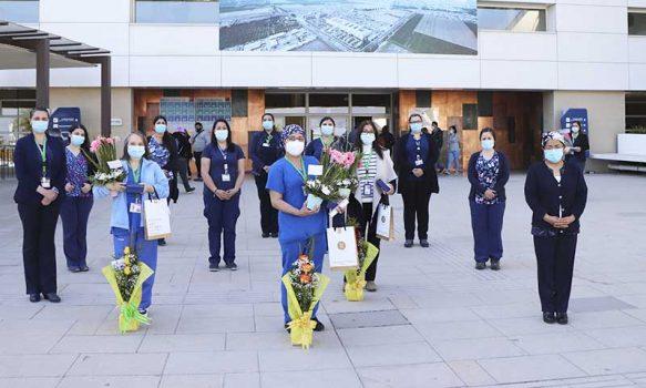 Hospital Regional homenajeó a funcionarios que cumplieron 30 años de servicio
