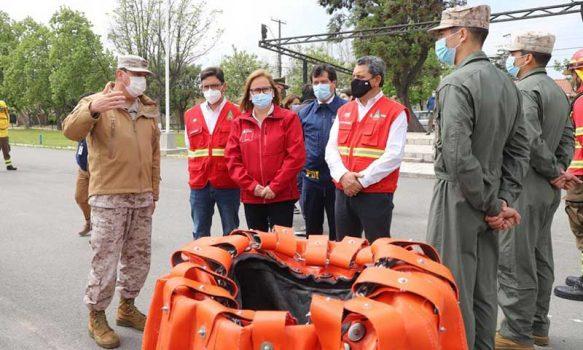 Intendenta lanza Plan Regional de prevención y combate contra incendios forestales para esta temporada