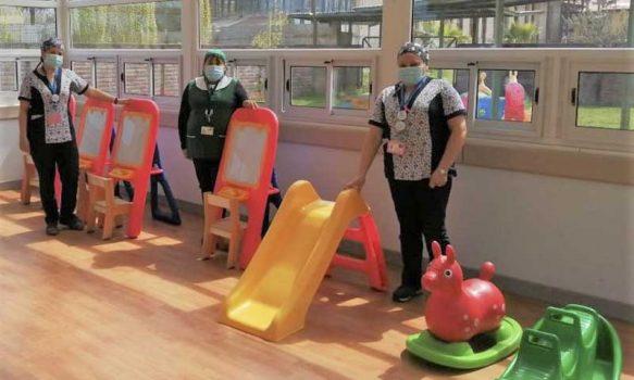 """Jardín Infantil """"Siete enanitos"""" del Hospital de Mercedes recibe reconocimiento del Mineduc"""