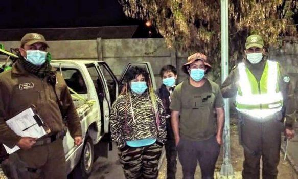 Machalí: Carabineros rescataron a familia extraviada en la precordillera