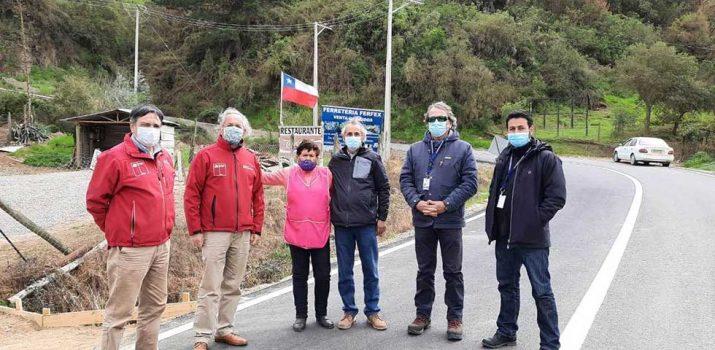 MOP O'Higgins inspecciona caminos en zonas apartadas de comuna de Navidad