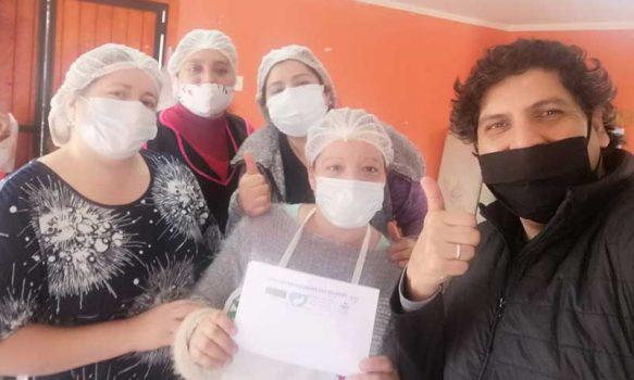 Movimiento Rancagua ciudadana entrega más de 500 cajas a ollas comunes de la comuna