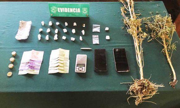 Rancagua: Dos mujeres detenidas por tener delivery de drogas