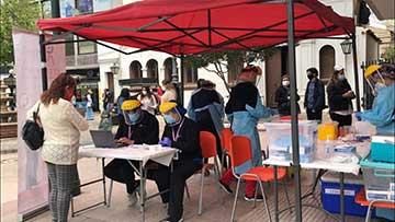 Rancagua: Municipio ha realizado 13.250 exámenes gratuitos de COVID-19