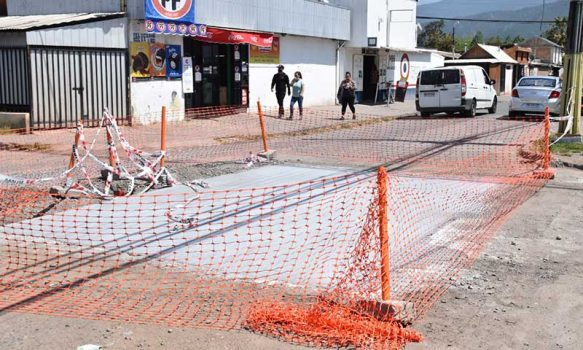 San Fernando: Comienza intervención para reparar baches en calles de la comuna