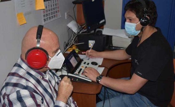 San Fernando, exitoso operativo de otorrinolaringología en el centro comunitario de rehabilitación
