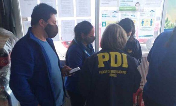 San Fernando: PDI efectúa fiscalización a extranjeros en rodoviario
