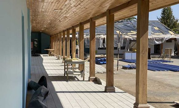 San Fernando: Remodelan completamente la escuela Antonio Lara Medina