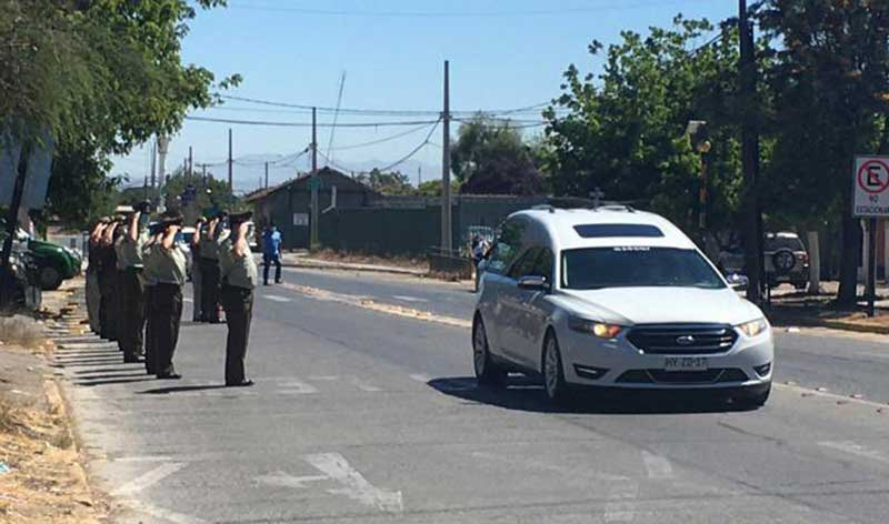Carabineros informó el fallecimiento de la destacada sargento primero Yasna Cruces Sanzana