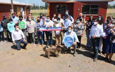Chimbarongo: Gobierno entregó viviendas a familias de sector rural