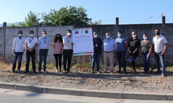 Coltauco: Comienza mejoramiento de acceso peatonal en Barrio Loreto