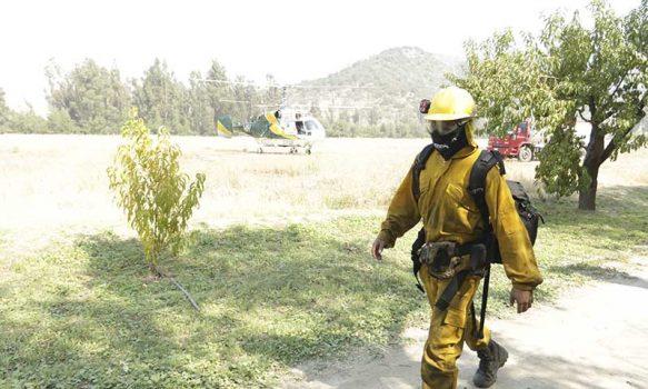 El Teniente fortalece convenio con Conaf para enfrentar los incendios forestales