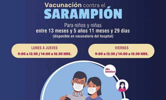 Hospital de Litueche se encuentra inmunizando a niños contra el Sarampión