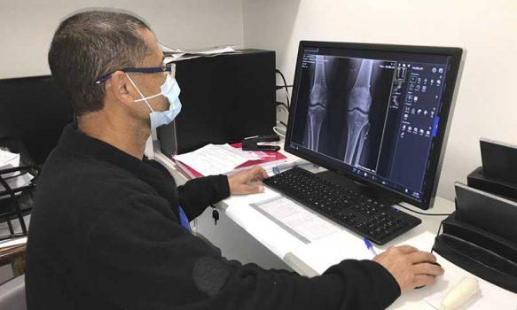 Hospital de Marchigüe es pionero en establecer convenio de Teleradiología en la Región