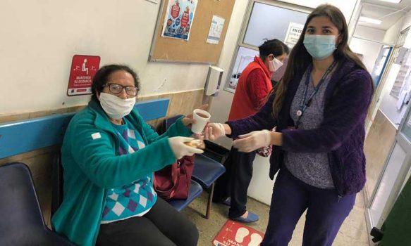 Hospital Peumo realiza degustación del Programa Alimentario a usuarios