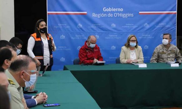 Intendenta preside COE regional y se define plan preventivo ante temporada de incendios forestales