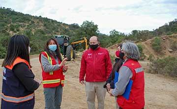 MOP O'Higgins realiza trabajos de prevención de incendios forestales para temporada 2020-2021