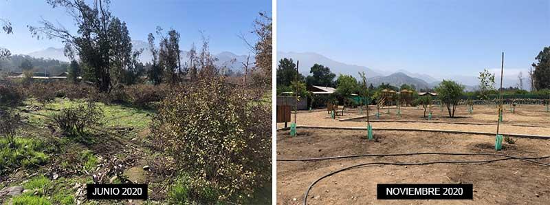 Mostazal: Un antes y después del nuevo parque La Candelaria