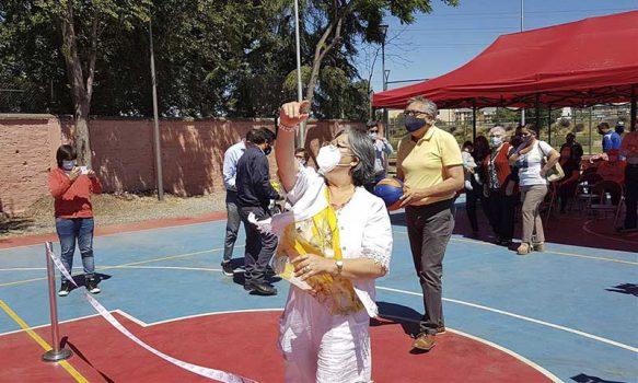 Rancagua: Nueva multicancha entrega espacios para el deporte y la entretención a vecinos de villa Alborada
