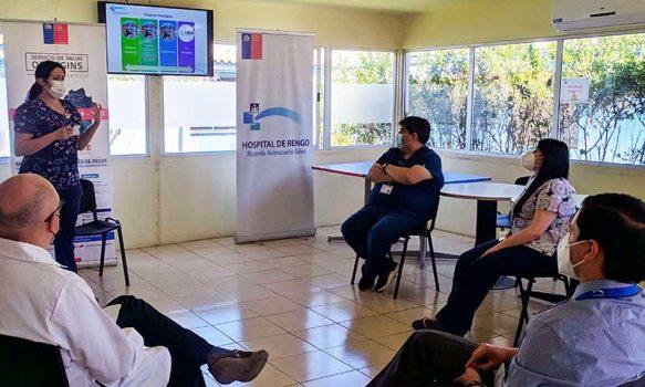 Nuevo director del Hospital de Rengo sostiene reuniones con equipos Clínicos