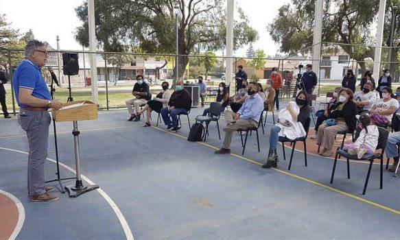 Población Rancagua Sur recibe nueva multicancha