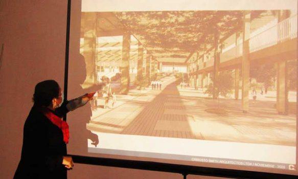 Presentan diseño arquitectónico del futuro liceo san José del Carmen de El Huique