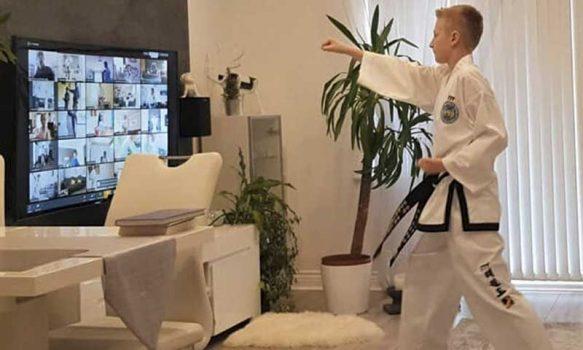 Primer campeonato online de habilidades en Taekwondo
