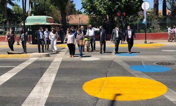 Rancagua: Autoridades inauguran cruce semi Tokio en intersección de avenidas Millán con Cachapoal