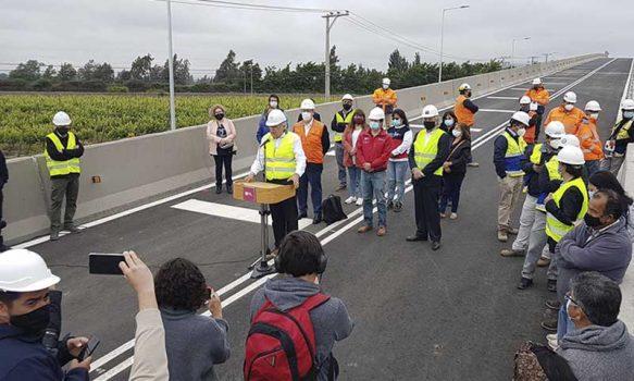 Rancagua: Municipalidad junto a EFE realiza entrega de tránsito en paso sobre nivel Las Coloradas