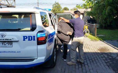 Rancagua: PDI detiene a extranjero que se fugó cuando dio positivo a COVID-19